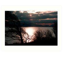 Inch Sunset Art Print