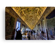 Hall of Maps - Vatican City Canvas Print