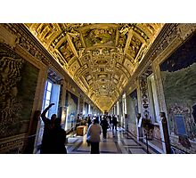 Hall of Maps - Vatican City Photographic Print