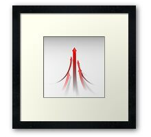 Abstract Teambuilding Background Framed Print