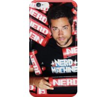 Zachary Levi Nerd Machine iPhone Case/Skin