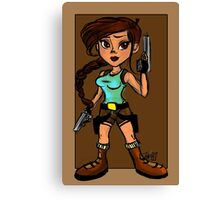 Tomb Raider- Lara Croft Canvas Print