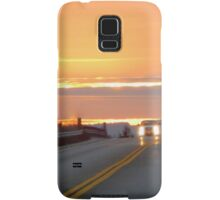 Highway to the sky Samsung Galaxy Case/Skin