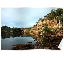 Ross Graham Lookout, Kalbarri National Park Poster