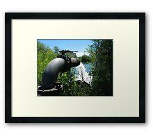 Irrigation Pump Framed Print