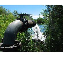 Irrigation Pump Photographic Print