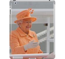 Her Majesty the Queen officially named Britannia in Southampton iPad Case/Skin
