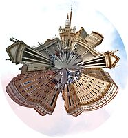 St Peter's Square World by Beth A