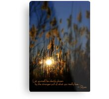 Let Yourself... Metal Print