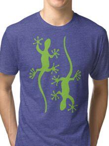 Two green geckos Tee Tri-blend T-Shirt