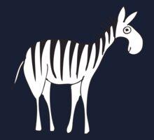 Zebra Tee One Piece - Short Sleeve