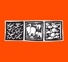 Three Icons Tee Kids Tee