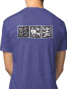 Three Icons Tee Tri-blend T-Shirt