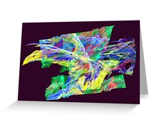 Apophysis Fractal 20 Greeting Card