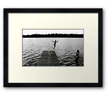 The Definition of Free Framed Print