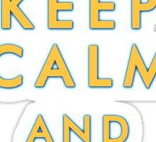 Keep Calm and Love Yanis Sticker