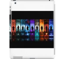 Doctor Who All Doctors iPad Case/Skin