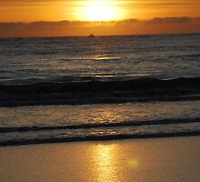 """Sun's Descent"" by Debi Meadows"
