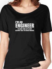 Engineer Funny Geek Nerd Women's Relaxed Fit T-Shirt