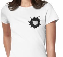My Love. Womens Fitted T-Shirt