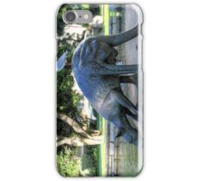 Kangaroos In The City 1 - Perth WA - HDR iPhone Case/Skin