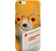 Fred Bear Wants to Learn First Aid iPhone Case/Skin