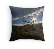 Sunstar Tree Throw Pillow