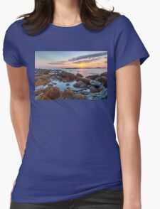 Sunrise at Sachuest Point Wildlife Refuge II Womens Fitted T-Shirt