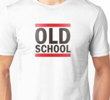 OLD SCHOOL Black Unisex T-Shirt