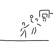 basketball usa basketball player by lineamentum