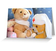 First aid is fun Greeting Card
