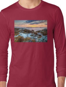 Sunrise at Sachuest Point Wildlife Refuge  Long Sleeve T-Shirt