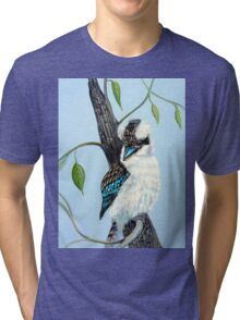 Sitting Pretty, Kookaburra Tri-blend T-Shirt