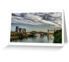 Sacramento Waterfront Greeting Card