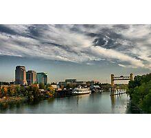 Sacramento Waterfront Photographic Print