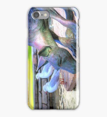 Kangaroos In The City 2 - Perth WA - HDR iPhone Case/Skin