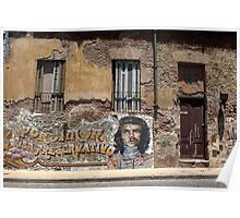 Old house in San Telmo Poster