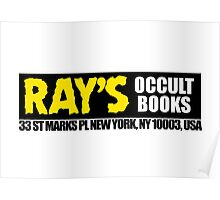 Ray's Occult Books - Ghostbusters 2 Poster