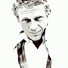 Steve McQueen by JoseFuentes