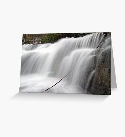 Stockbridge Falls - Detail Greeting Card