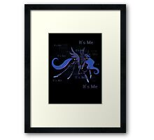 My Little Pony Princess Luna Puppet Framed Print