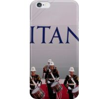 Her Majesty the Queen officially named Britannia in Southampton iPhone Case/Skin
