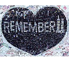 Remember!  Photographic Print