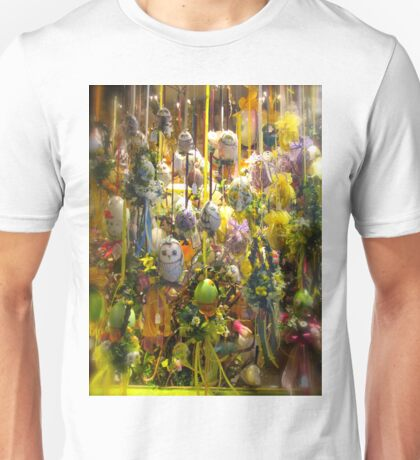 Hand Painted Eggs Unisex T-Shirt