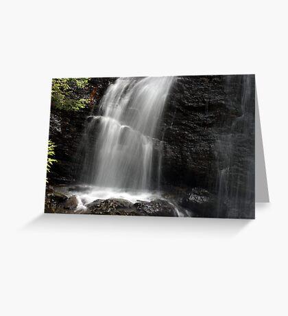 Moss Glen Falls - Detail Greeting Card