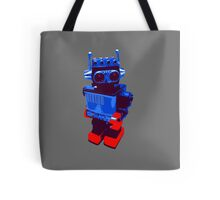 Techno Robot Tote Bag