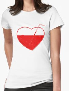 Suck my heart out!11 — white Womens Fitted T-Shirt