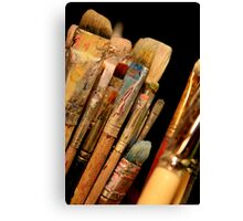 An Artist's Tools Canvas Print