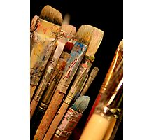 An Artist's Tools Photographic Print
