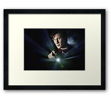 Doctor Who Matt Smith 11 Framed Print